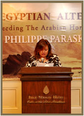Philippe Paraskevas : The Egyptian Alternative :Egyptian Arabian :News :The Egyptian Alternative - Breeding The Arabian Horse (Volume 1) Book Signing